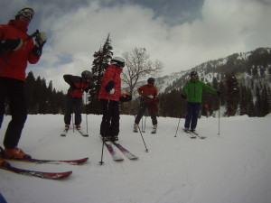 The crew.  Trust me when I tell you these old people will ski you into the ground.